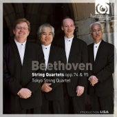 Beethoven: String Quartets, Op.74 & 95 by Tokyo String Quartet