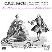 C.P.E.Bach: Symphonies 1-4, Cello Concerto in A von Various Artists