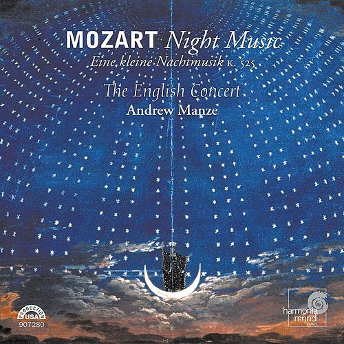 Mozart: Night Music by The English Concert and Andrew Manze