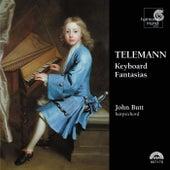 Telemann: Keyboard Fantasias by John Butt