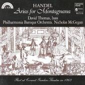Handel: Arias for Montagnana de Various Artists