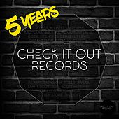 5 Years Of Check It Out Records - EP von Various Artists