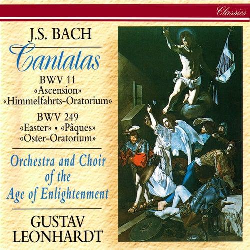 J.S. Bach: Easter Oratorio; Ascension Oratorio by Gustav Leonhardt