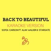 Back To Beautiful (Originally Performed by Sofia Carson ft. Alan Walker & Stargate) by JMKaraoke