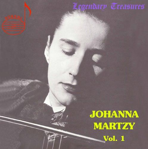 Handel: Violin Sonata - Bach: Sonata No. 1, et al. by Johanna Martzy