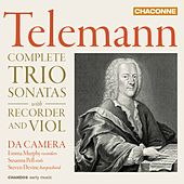 Telemann: Complete Trio Sonatas with Recorder & Viol by Various Artists