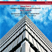 Reich: Variations for Winds, Strings & Keyboards / Adams: Shaker Loops von Edo de Waart
