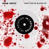 Written In Blood by Dead Critic