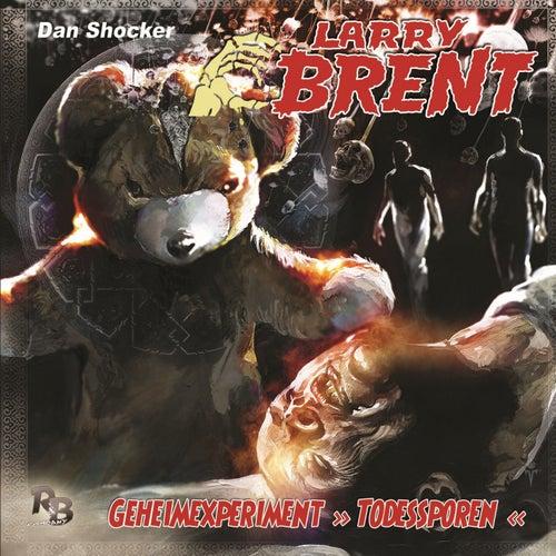 Folge 25: Geheimexperiment Todessporen von Larry Brent