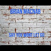 Say you won't let go by Brian Macnab