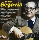 Segovia Plays: Lo Mestre, Bach, Haydn, Rameeau, Rodrigo, Lauro, Scriabin, Cassadau, Villa-lobos de Andres Segovia