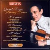 Leonid Kogan. Paganini. Vieuxtems. Ravel. by Various Artists