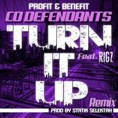 Turn It Up (feat. Rigz) de Co Defendants