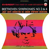 Beethoven: Symphonies No. 2 & 4 (Transferred from the Original Everest Records Master Tapes) by London Symphony Orchestra