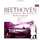 Beethoven: The Middle Quartets (Digitally Remastered from the Original Concert-Disc Master Tapes) by Fine Arts Quartet