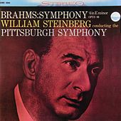 Brahms: Symphony No. 4 in E Minor, Op. 98 von Pittsburgh Symphony Orchestra and William Steinberg