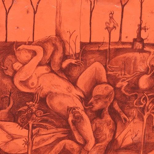Orgie de gobelins sous champignons hallucinogènes de La Femme