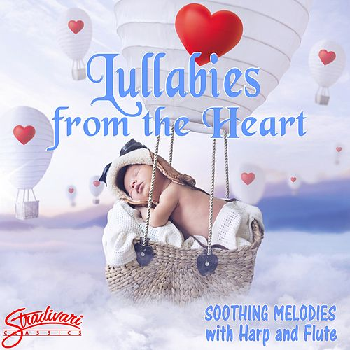 Lullabies from the Heart - Soothing Melodies with Harp and Flute by Barbara Brown