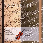 Favorite Lds Hymns on Violin by Randy Nyborg