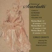 D. Scarlatti: The Complete Keyboard Sonatas, Vol. 5 by Carlo Grante