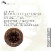 Bach, J.S.: 3 Harpsichord Concertos by Christopher Hogwood