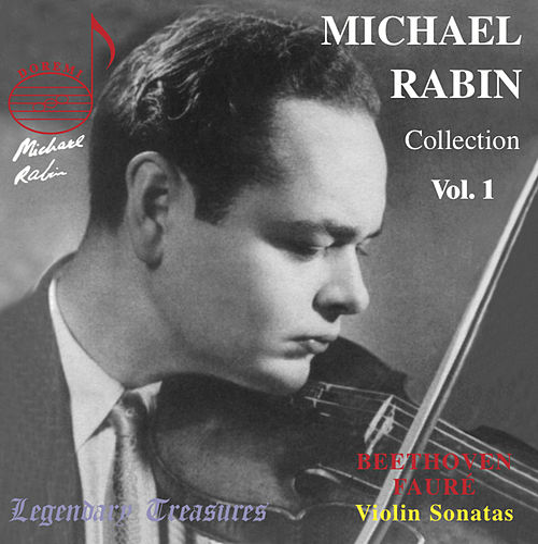 Beethoven: Violin Sonata No. 8 - Fauré: Violin Sonata No. 1 - Paganini: Caprice No. 17 von Michael Rabin