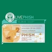 LivePhish 2/28/03 de Phish