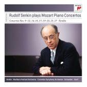 Rudolf Serkin Plays Mozart Piano Concertos de Rudolf Serkin