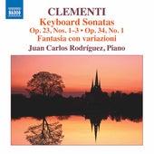 Clementi: Keyboard Sonatas, Opp. 23 & 34 by Juan Carlos Rodríguez