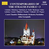 Contemporaries of the Strauss Family, Vol. 3 by Czech Chamber Philharmonic Orchestra Pardubice