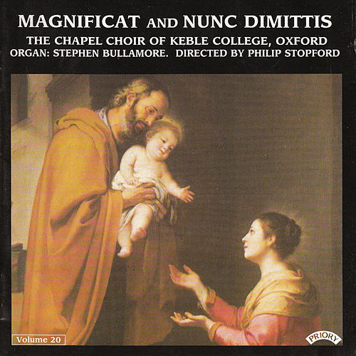 Magnificat & Nunc Dimittis Vol. 20 by Oxford The Choir of Keble College