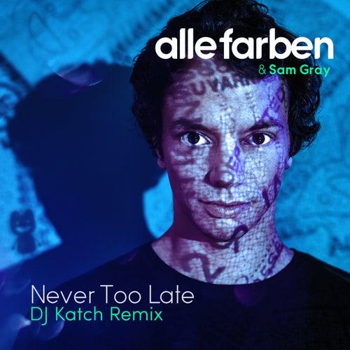 Never Too Late (DJ Katch Remix) von Alle Farben