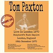 Live in London 1970 von Tom Paxton