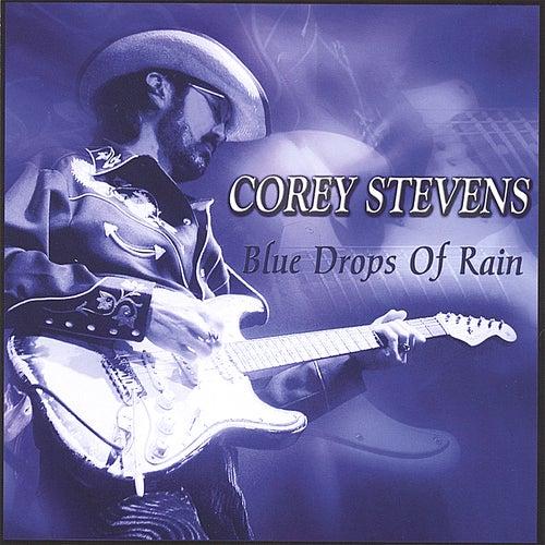 Blue Drops of Rain by Corey Stevens