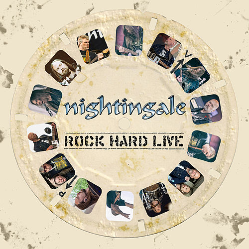 Rock Hard Live by Nightingale