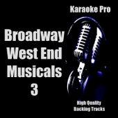 Karaoke Pro - Broadway West End Musicals 3 de Karaoke Pro (1)