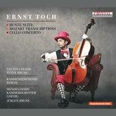 Toch: Bunte Suite, Mozart Transcriptions & Cello Concerto von Various Artists