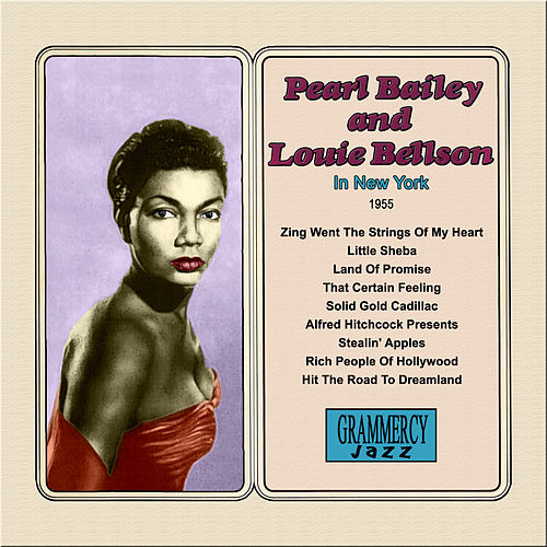 Pearl Bailey and Louie Bellson In New York by Pearl Bailey