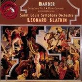 Concerto and Symphony No. 1 von Samuel Barber