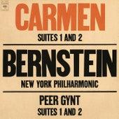 Bizet: Carmen Suites 1 & 2 - Grieg: Peer Gynt Suites 1 & 2 by Leonard Bernstein