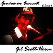 Genius in Concert - Volume 1 de Gil Scott-Heron