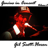 Genius in Concert - Volume 2 de Gil Scott-Heron