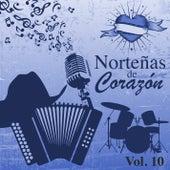 Norteñas de Corazón (Vol. 10) by Various Artists