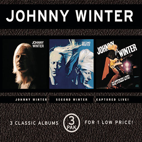 Johnny Winter/Second Winter/Captured Live by Johnny Winter