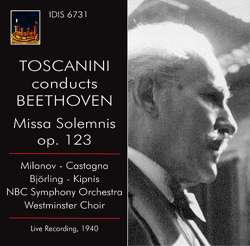 Beethoven: Missa solemnis, Op. 123 (Live) by Zinka Milanov