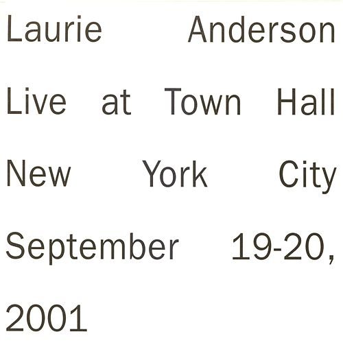 Live in New York by Laurie Anderson