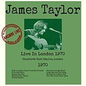 Live In London 1970 von James Taylor