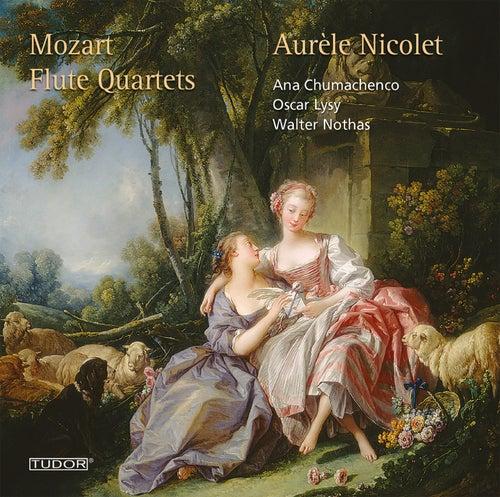 Mozart: Flute Quartets by Aurèle Nicolet