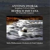 Dvoràk: Symphony No. 8 in G Major, Op. 88 - Smetana: Mà Vlast (My Country) by Sofia Philharmonic Orchestra