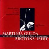 Martinů, Gulda, Brotons, Ibert: Concertos for Cello & Wind Ensemble by Ensemble Barcelona